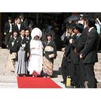 生田神社・生田神社会館:憧れの紋付袴・白無垢での神前式を希望。挙式・披露宴・二次会を多彩な空間で晴れの日を過ごせるのも魅力