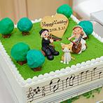 アニヴェルセル 大阪:おもてなしで重視した料理はゲストに大好評!音楽×ネコがモチーフのオリジナルケーキはゲストの間で話題に