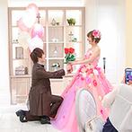 アニヴェルセル 大阪:どんな想いも受けとめてくれたスタッフたち。新婦に似合うヘアアレンジやドレスもステキに提案してくれた