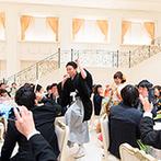 アニヴェルセル 神戸:ポップ&メジャーなBGMが響きわたる再入場シーンに全員ワクワク!両家の母の味もゲストとの交流も思い出に