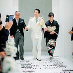 SWEET ROSES CLUB OKAZAKI(スウィート ローゼス クラブ岡崎):大切な家族とともに創りあげるセレモニー。すみずみまで想いをこめたアットホームな人前式が叶った