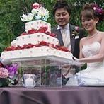 THE GARDEN PLACE SOSHUEN(蘇州園):新婚旅行と家族旅行を兼ねてハワイで挙式。披露宴はがらりとイメージを変えて和の雰囲気でいきたかった