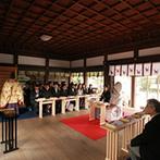 THE GARDEN PLACE SOSHUEN(蘇州園):挙式は馴染みのある神社で、パーティも和の趣に満ちた場所で叶えたい。何度か愛用していた会場が第一候補に