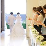 アルカンシエル ベリテ 大阪:こだわりがあれば妥協せず、時間をかけてでも想いを実現。頼れるスタッフと一緒に理想の花嫁姿を叶えよう