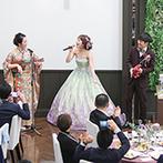 アルカンシエル ベリテ 大阪:ふたりの想いを最優先に、誠心誠意尽くしてくれたスタッフたち。ドレスから装花までイメージ通りの出来映え