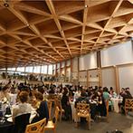 ラヴィマーナ神戸(RAVIMANA KOBE):海外にいるかのような非日常的な光景が広がるゲストハウス。木の温かみに満ちたパーティ会場も決め手!