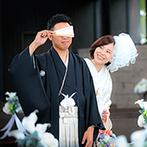 ラヴィマーナ神戸(RAVIMANA KOBE):新郎が希望したチャペルでのファーストミートや、スタッフの全面協力によるサプライズで忘れられない一日に