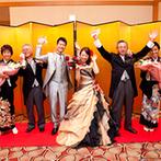 ウェスティンホテル大阪:ホテルでもワンフロア貸切のようなプライベート感。プランナーと想いを共有し、おもてなしを徹底できた