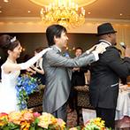 ウェスティンホテル大阪:ゴスペルシンガーの登場に、歌って踊って会場は大盛況!ゲストと一緒に楽しみ、心の距離が近づくパーティに