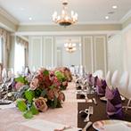 ウェスティンホテル大阪:「自宅で食事を楽しむような」イメージにぴったりのパーティ空間。素敵な眺望と美味しい料理が魅力