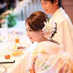 帝国ホテル 大阪:キャンドルサービスなどでゲストとの会話や撮影を満喫。一人ひとりに感謝を伝えたアットホームなパーティ