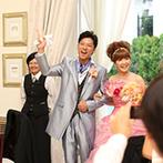 ベイサイド迎賓館 神戸:ふたりらしさが輝くステージを作ってくれたコーディネーター、いつも寄り添ってくれたプランナーに感謝