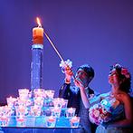ロイヤルオークホテル スパ&ガーデンズ:ピアノの生演奏がゲストの心にも深く刻まれた。新婦から新郎への素敵なサプライズで感動的なムードに