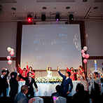 ロイヤルオークホテル スパ&ガーデンズ:プランナーと相談しながら憧れの結婚式を叶えることができた。プロの美容師ならではの技術で素敵な花嫁姿に