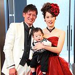 オルヴィエート:親身なサポートに支えられ、家族の幸せをお披露目できた結婚式に。小さな子どもがいてもあきらめずに相談を