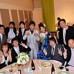 ホテル大阪ガーデンパレス:「ただただ、感謝しています」。ふたりの想いに熱心に耳を傾け、希望を前向きにサポートしてくれたスタッフ