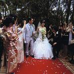 大阪ガーデンパレス:たくさんのこだわりを予算内で叶えられたのはプランナーのおかげ。ドレスも理想のデザインに出会えて大満足