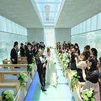 神戸メリケンパークオリエンタルホテル:デザインが国際的に認められたガラスのチャペルに一目ぼれ。リゾート&スタイリッシュな披露宴会場も魅力的