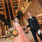 神戸メリケンパークオリエンタルホテル:ドレス選びは新郎や家族のアドバイスをもらうとスムーズになるはず。ホテルは宿泊まで楽しめるのでオススメ