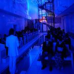 ルミエランジェ・ガーデン(Lumierange Garden):チャペルのらせん階段を使った入場演出に心を奪われた。イメージが膨らむ説明で憧れの結婚式が叶うと確信!