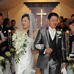 京都ガーデンパレス:料理や演出、衣裳も自分達らしくオーダー!親身なスタッフと一緒に、心温まる結婚式を叶えられたことに感謝
