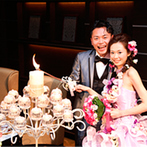 京都ガーデンパレス:母達に灯してもらうマザーズ・ラブ・キャンドルや、手作りグッズでの写真撮影。ゲストとの温かな交流を満喫