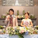 アーカンジェル迎賓館 名古屋:高校時代に出会ったふたりのテーマは「学校」。貸切空間に飾られたアイテムに、ゲスト同士の歓談も弾んだ