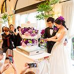 ヴィラ・グランディス ウエディングリゾート:こだわりの装花で幸せなひと時を彩った大人ウエディング。ドレスも和装も引き立てる美しい空間に仕上がった