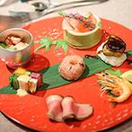 THE KAWABUN NAGOYA(ザ カワブンナゴヤ):和モダンな会場を上質ナチュラルにコーディネート。故郷の素材を活かした出来立ての料理が大好評!