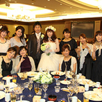 名古屋観光ホテル:貸切空間での心尽くしのおもてなしにゲストも大満足。披露宴後のホテルからふたりへのサービスにも感激した
