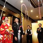 RIVER SIDE HOTEL NUMAZU(沼津リバーサイドホテル):スタッフの温かな祝福に笑顔!プランナーはメールの返信も早く、何でも相談できる心強いパートナーだった