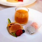 ANAクラウンプラザホテル金沢:「素敵な式ができたのはプランナーさんのおかげ」。マンゴープリンをつくった時間も、大切な思い出になった