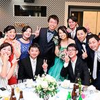 伊良湖ビューホテル:テーブルラウンドの時間をたっぷり設けて、ゲストとのふれあいを満喫。感謝を伝えるサプライズも大成功