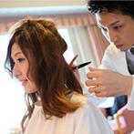 ホテル・アゴーラ リージェンシー大阪堺:衣裳チェンジ&ヘアカットのお色直しにゲストもびっくり!フラッシュモブのサプライズで会場は大盛り上がり