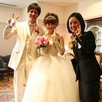 京都ホテルオークラ:細やかな心配りに「さすがオークラのスタッフ」。新婦の思いに寄り添う温かな対応で、理想の花嫁姿が叶った
