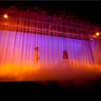 ホテル鐘山苑:ステージの設備が活躍して色当てクイズをより盛り上げた。ガーデンテラスで開放的なデザートビュッフェも!