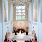 アビー・ラ・トゥール教会(ウエディング セントラル パーク):英国式教会で本番さながらの模擬挙式を見て感動!スタッフの対応や遠方ゲストが足を運びやすい立地も決め手