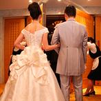ホテルグランヴィア京都:すべての準備がホテル内で完結。スタッフ同士の連携もバッチリで、安心して当日を迎えることができた