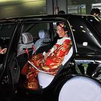 ホテルグランヴィア京都:平安神宮での挙式も、ホテルの徹底したサポートのおかげで実現。大和髪を結った和装スタイルも大切な記念に