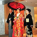 ホテルグランヴィア京都:プロの細やかなサポートを実感できた準備期間。お辞儀のタイミングなど大事なアドバイスも伝授してもらえた
