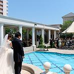 ア・ラ・モード パレ&ザ・リゾート:アットホームな雰囲気の会場が魅力。気さくなスタッフはもちろん、リーズナブルに結婚式が叶うことも決め手
