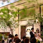 ア・ラ・モード パレ&ザ・リゾート:元演劇部の友人による余興で会場を盛り上げた。インタビュー&手紙でクライマックスは感動の一幕に