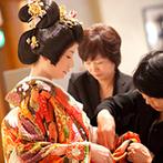岐阜都ホテル(2019年4月1日から都ホテル 岐阜長良川):衣裳や小物は家族と一緒にじっくり吟味。楽しみながら準備を進められたのは、会場のスタッフたちのおかげ