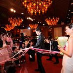 KONAYA HOTEL:目指したのは、ゲストと近い距離で楽しめる披露宴。歓談の時間を中心に触れ合いを大切にした演出も