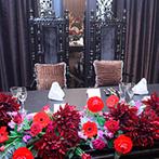 マリコレ ウェディングリゾート(MC Wedding Resort):北九州の海辺にある、プライベート感抜群のゲストハウス。黒を基調とした空間に、理想の結婚式が叶う予感!