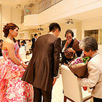 キャナルサイド ララシャンス:結婚式で家族への感謝の気持ちをしっかり伝えよう。最初から最後までスタッフが助けてくれるので安心して