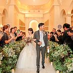 キャナルサイド ララシャンス:白亜の邸宅を貸切った、アットホームなパーティが理想。自由度の高い会場に、結婚式のイメージが膨らんだ
