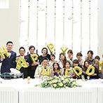 Art Bell Ange NARA(アールベルアンジェ奈良):抜群のチームワークで最高の結婚式を叶えてくれた。各スタッフとの綿密な打ち合わせでサプライズも大成功