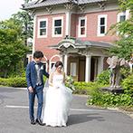 迎賓館 サクラヒルズ川上別荘:洗練されたノスタルジックな空間に一目惚れ!雄大な自然の中でアットホームなふたりらしい結婚式を