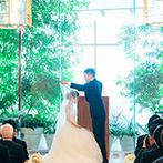 ヨコハマ グランド インターコンチネンタル ホテル:デートやプロポーズの舞台となった思い出の横浜。大好きな景色をバックにリゾート感のある結婚式を